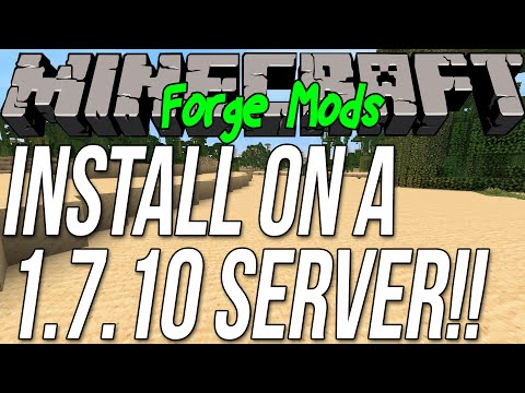 How To Install Mods On Minecraft Forge Server