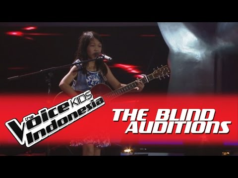 Charisa  Roar  I The Blind Auditions I The Voice Kids Indonesia GlobalTV 2016