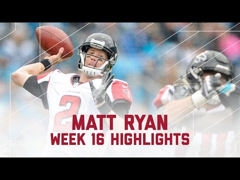 Matt Ryan Burns the Panthers with 2 TDs! | Week 16 Player Highlights