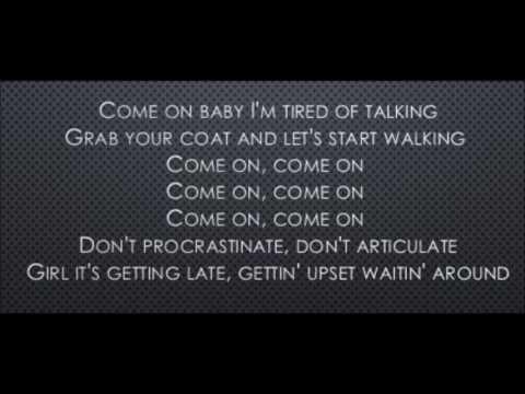 A Little Less Conversation - Elvis Presley (Lyrics)