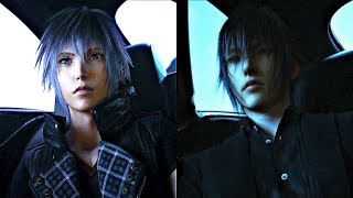 Kingdom Hearts 4 VS Final Fantasy Versus XIII Comparison (ReMind DLC Secret Ending)