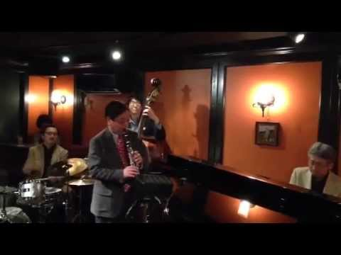 """""""Heartaches"""" by ePAQ (em's Pro Ama Quartet)  at Jazz & Bar em's in Ginza, Tokyo"""