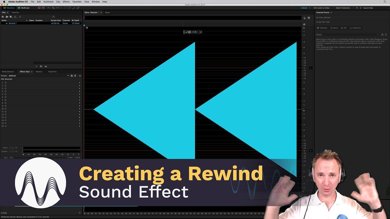 Rewind Sound Effect Tutorial