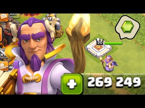 Clash of Clans - Gemming Grand Warden to MAX! (Gameplay)