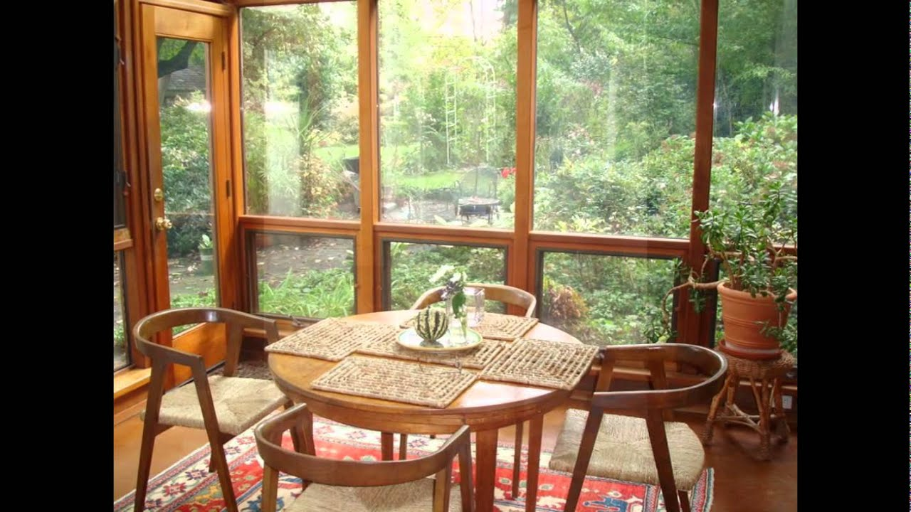 YouTube & Sunroom Furniture- Sunroom Furniture Ideas