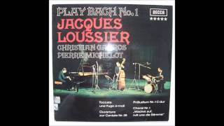 Jacques Loussier, Prelude No. 1 in C Major, from Play Bach No. 1, Recorded 1959