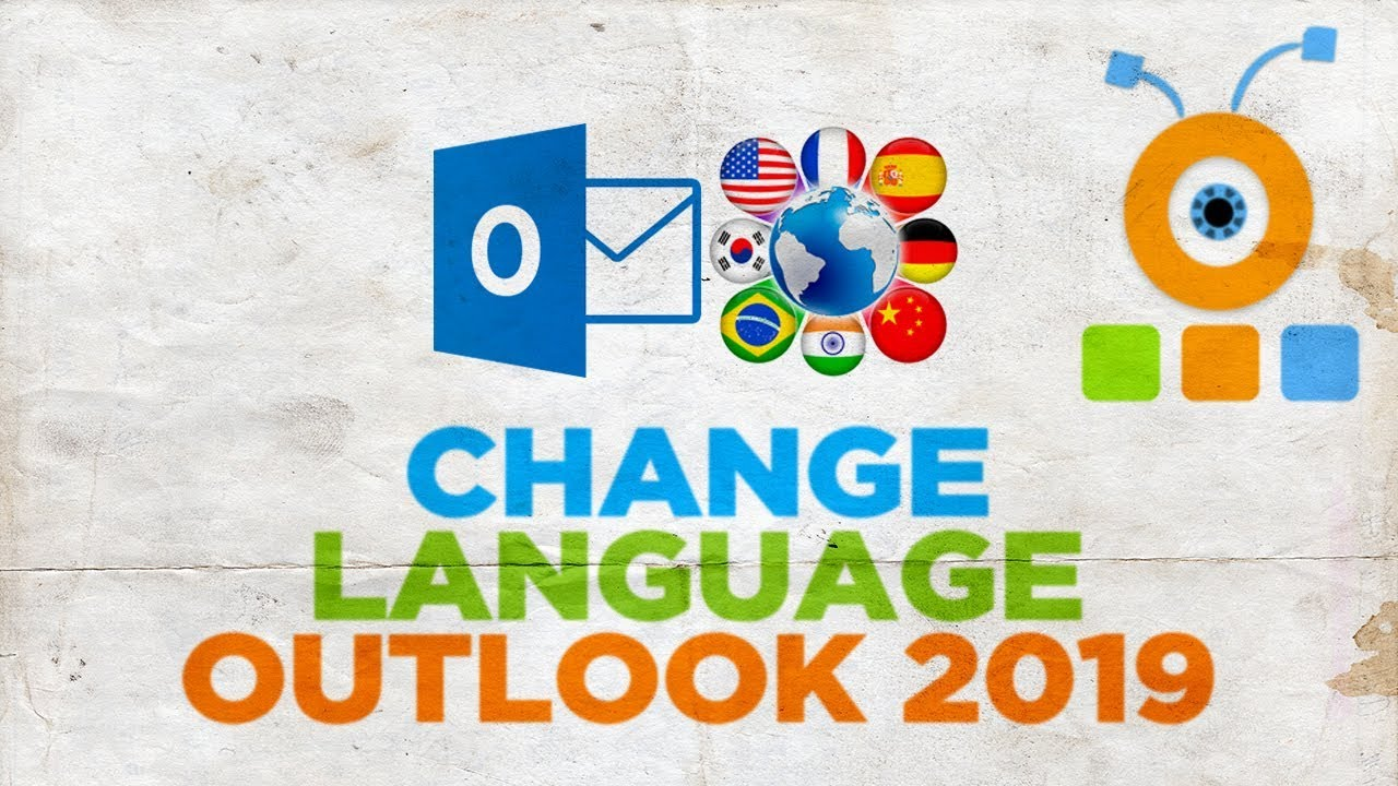 How to Change Language in Outlook 2019
