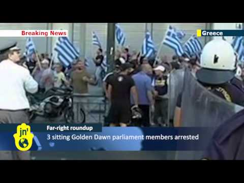 Greek authorities launch crackdown on far-right Golden Dawn