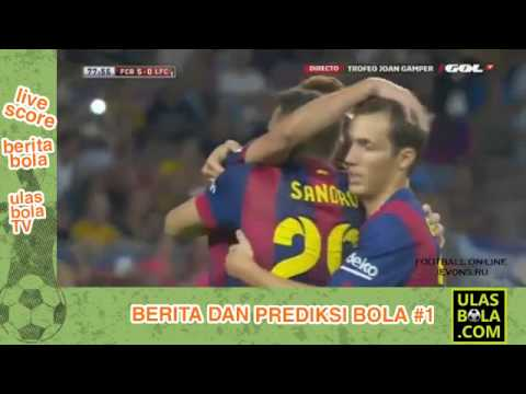 Barcelona Vs Club Leon 6-0