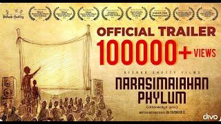 Narasimaiahan Film Official Trailer 2019 l Jai Shankar A l Rishab Shetty l Charan Kumar l Vjay Raj