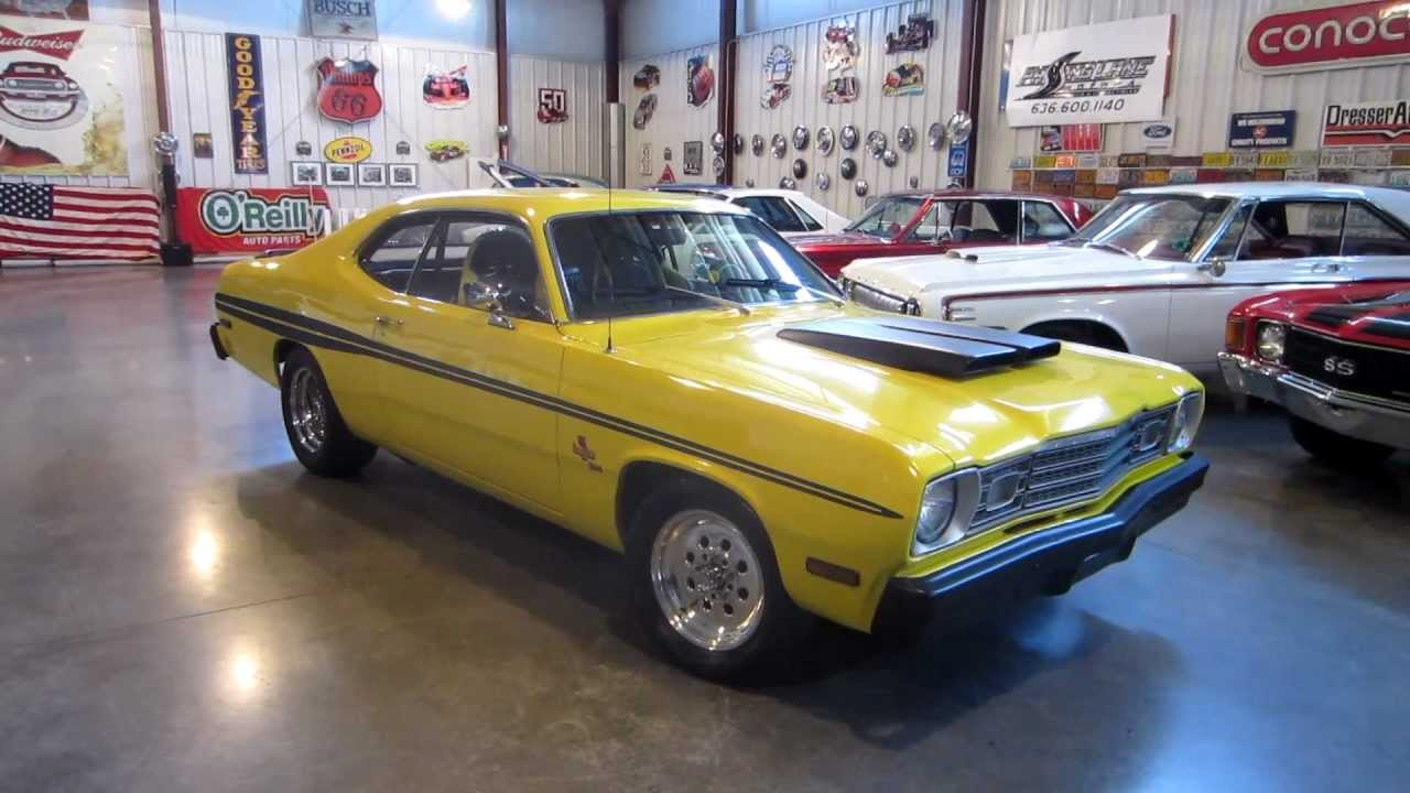 sold plymouth duster dodge demon for sale passing lane motors classic cars youtube. Black Bedroom Furniture Sets. Home Design Ideas