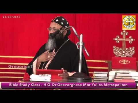 Bible Study Class about Liturgical Year of Church - H.G.Dr.Geevarghese Mar Yulios