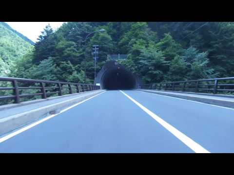 Cool Japanese mountain tunnels.