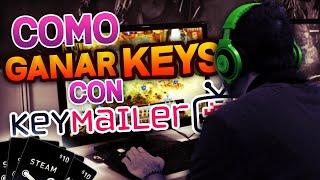 COMO GANAR LLAVES GRATIS DE STEAM | Como Usar Keymailer | Tutorial
