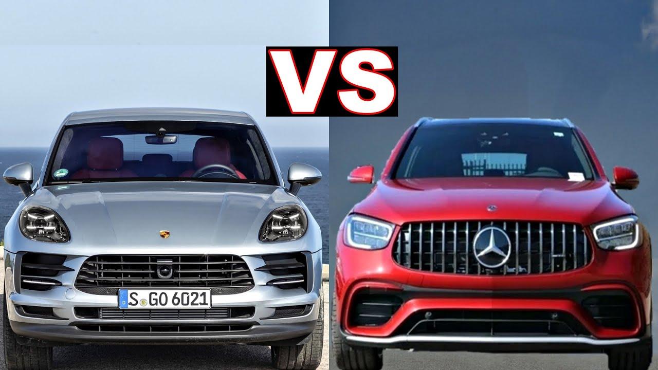 Porsche macan vs Mercedes GLC 300 Coupe (2020 - 2021) macan vs glc. Head to Head (review)