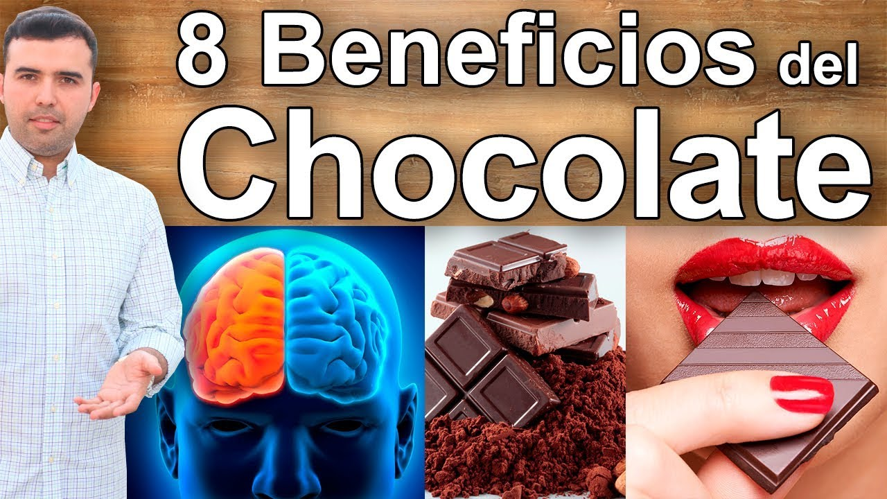 los beneficios de comer chocolate amargo