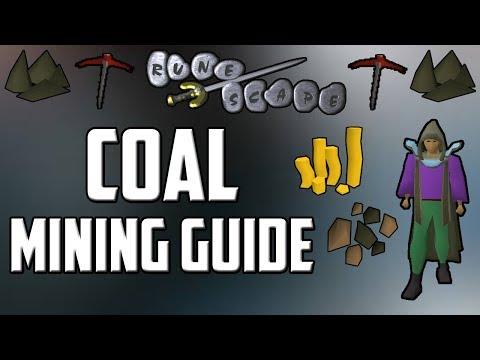Old School RuneScape Coal Mining Guide