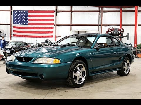 1997 Ford Mustang SVT Cobra Green