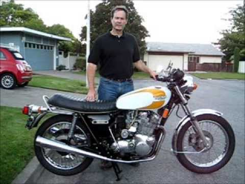 1975 Triumph T160 Trident - YouTube