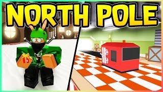*NEW* North Pole Simulator?! Roblox (The North Pole)