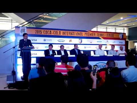 International Premier Tennis League 2015 PressCon