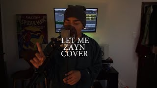Download Lagu Zayn - Let Me (Cover By John Concepcion) Mp3