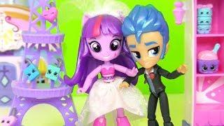 Май Литл Пони Мультик! Свадьба Искорки и Бриллианты в Наследство от Шопкинс My Little Pony
