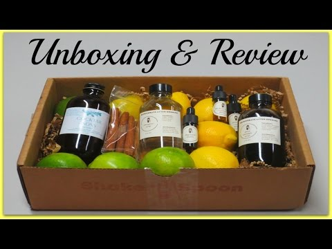 Shaker & Spoon Unboxing & Review - August 2016!