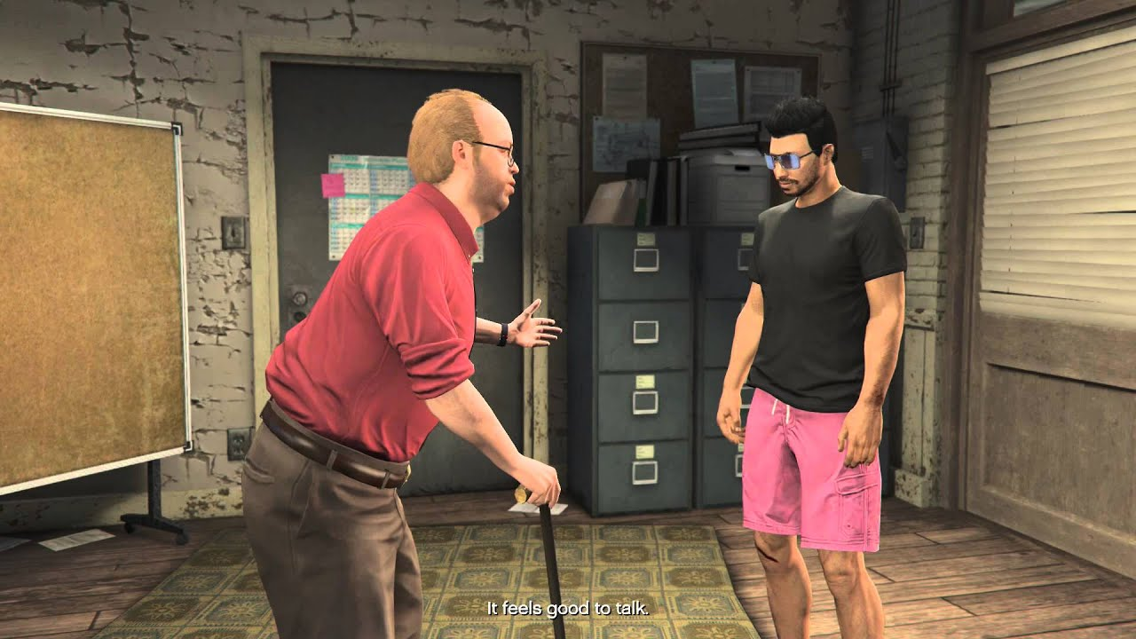 gta v heists how to call lester