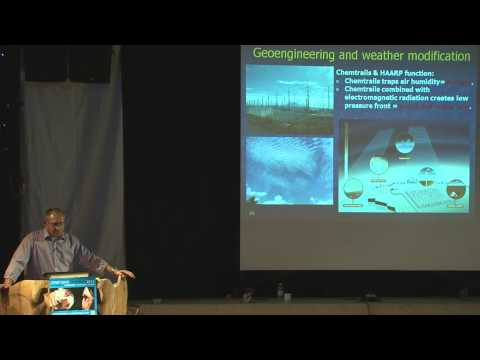 Geoengineering, Frank Rasmussen at the Open Mind Conference 2012