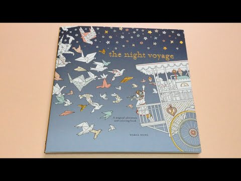 a325c20c47f Flip Through: The Night Voyage Coloring Book By Daria Song - YouTube