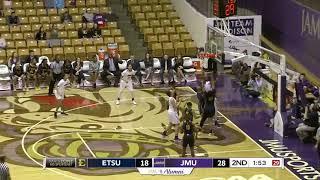 HIGHLIGHTS | JMU Women's Basketball vs. ETSU