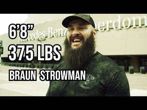 What Does WWE Superstar Braun Strowman Eat?