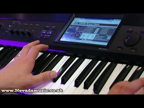 Korg Krome Keyboard Demo at PMT