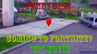 Un ballon est à Pleasant. Pennywise?? #it - Fortnite Battle Royale PS4 Gameplay - Code: BoomBeatle3