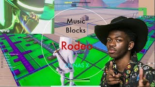 Rodeo - Lil Nas X, Cardi B (Fortnite Music Blocks Remake) [With code]