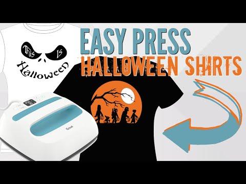 Easy Press Halloween Shirts - DIY