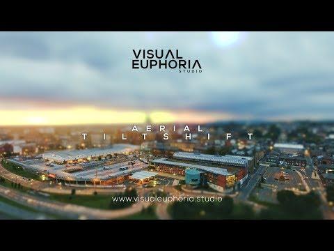 Aerial Tiltshift - Drone Footage - DJI Phantom 4