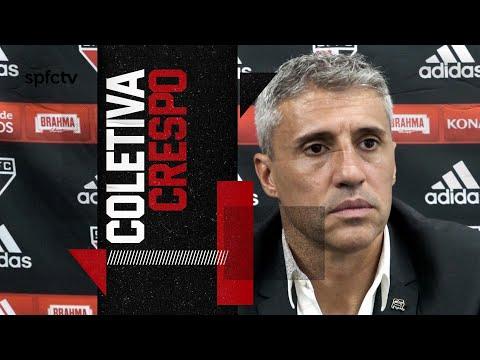 COLETIVA PÓS-JOGO HERNÁN CRESPO: INTER DE LIMEIRA x SÃO PAULO | SPFCTV