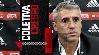 COLETIVA PÓS-JOGO HERNÁN CRESPO: INTER DE LIMEIRA x SÃO PAULO   SPFCTV