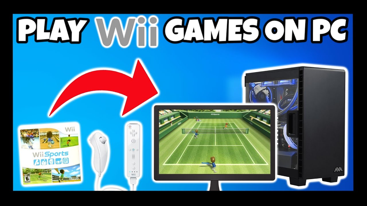 How to emulate wii games on pc (Guide)