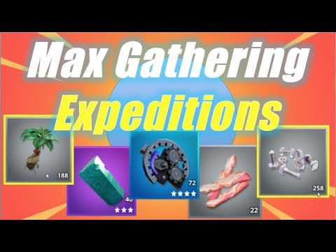 Max Gathering - Expeditions / Fortnite Save the World