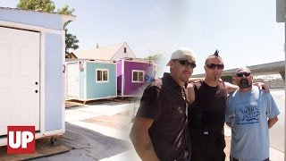 Tiny Houses  For The Homeless in Los Angeles | UPROXX Reports