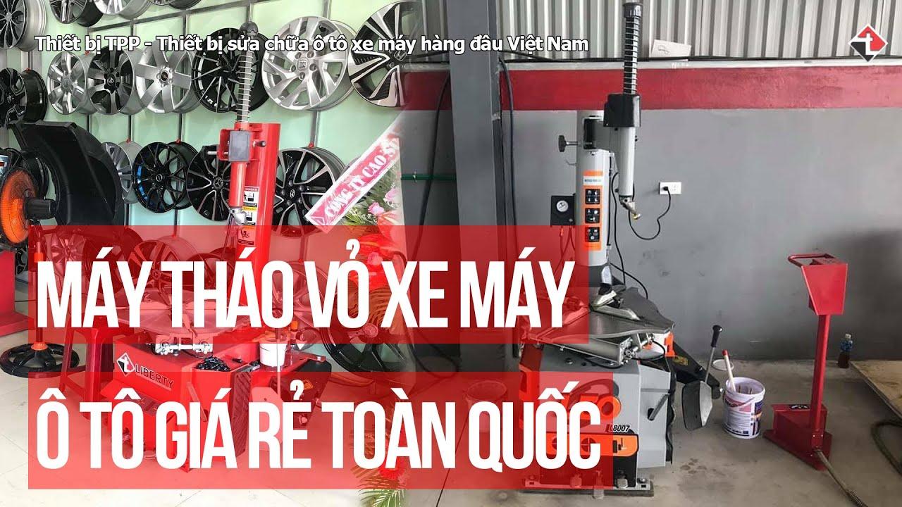Máy mở vỏ lốp xe máy ô tô thương hiệu Italy giá rẻ giao hàng toàn quốc