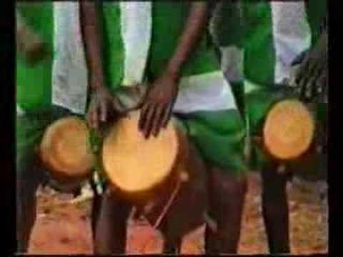 Africa masquerade dance