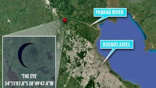 El Ojo de la Provincia de Buenos Aires ~ Google maps Free HD Video