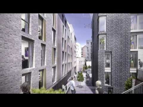 Holyrood North Postgraduate Accommodation Preview
