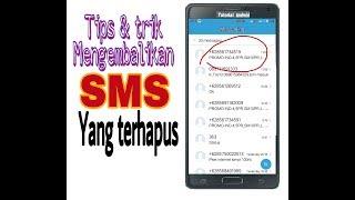 Cara Mengembalikan SMS Terhapus HP Samsung.