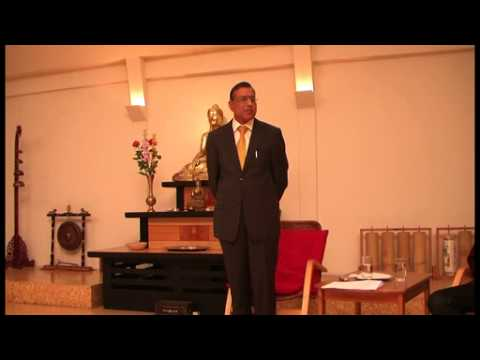 KARMA Lecture by Mr Gauri Shanka Gupta at Buddhist College, Budapest, Hungary on March 4, 2013