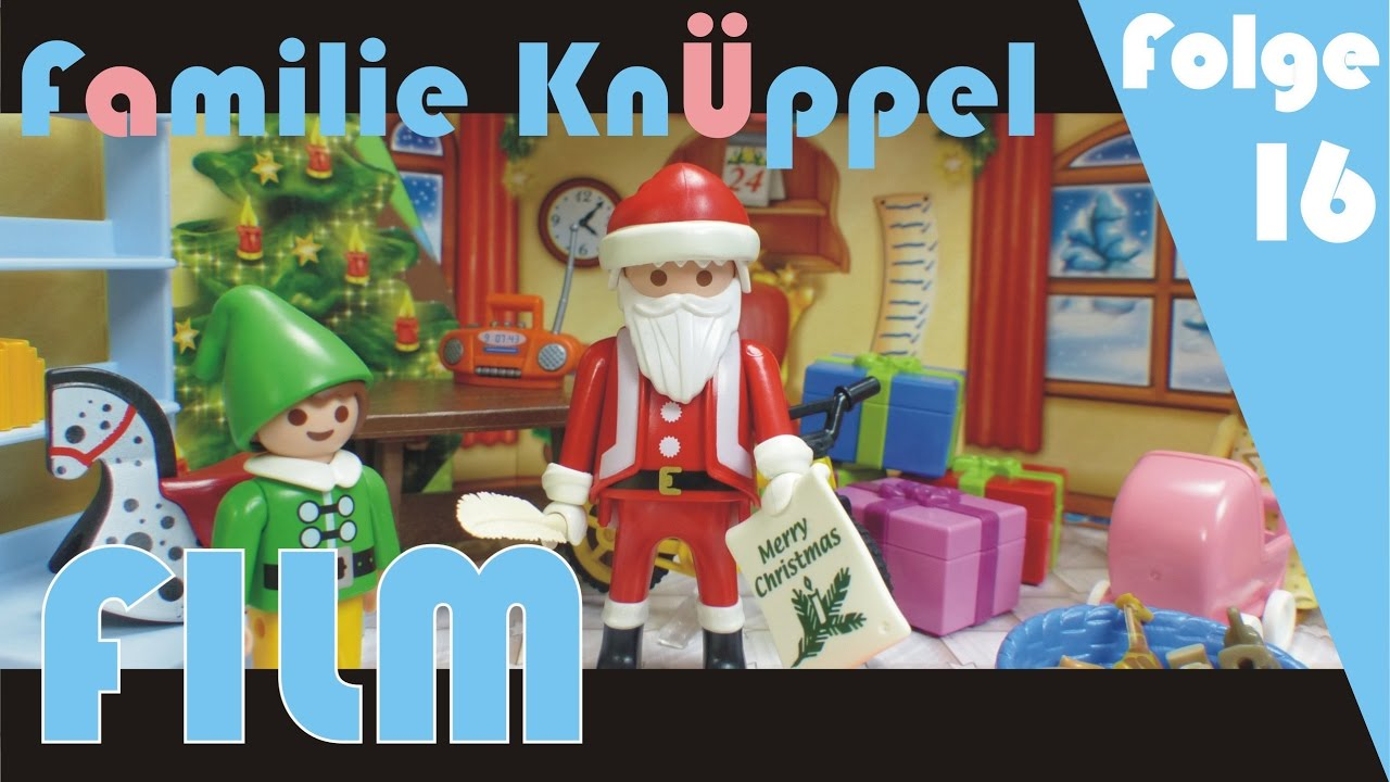 weihnachten playmobil film deutsch kinderfilm. Black Bedroom Furniture Sets. Home Design Ideas